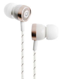 WHITE MENS ACCESSORIES AUDIOFLY AUDIO + CAMERAS - AF455-3-02WHI