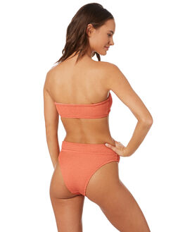 TUSCAN ORANGE WOMENS SWIMWEAR SWELL BIKINI BOTTOMS - S8201339TSORG