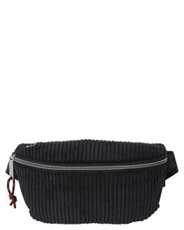 BLACK MENS ACCESSORIES THE BUMBAG CO BAGS + BACKPACKS - PB013BLK