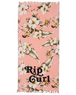 PEACH WOMENS ACCESSORIES RIP CURL TOWELS - GTWCS10165