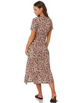 LEOPARD WOMENS CLOTHING SWELL DRESSES - S8189445LEO