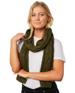 OLIVE WOMENS ACCESSORIES RIP CURL SCARVES + GLOVES - GSABY10058