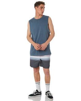 BLACK MENS CLOTHING RVCA BOARDSHORTS - R181403BLK