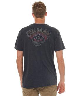 BLACK MENS CLOTHING BILLABONG TEES - 9572019BLK