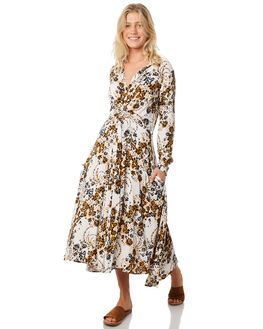 IVORY WOMENS CLOTHING FREE PEOPLE DRESSES - OB8722681103