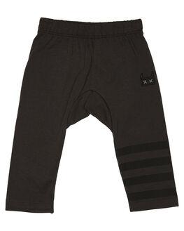 SOFT BLACK KIDS BOYS MUNSTER KIDS PANTS - MI182PA01SBLK