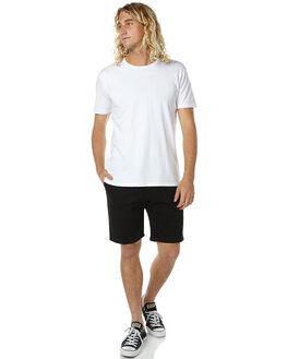 BLACK MENS CLOTHING RVCA SHORTS - R161322BLK