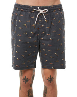 BLACK PIZZA MENS CLOTHING BARNEY COOLS BOARDSHORTS - 618-CR1PIZZA