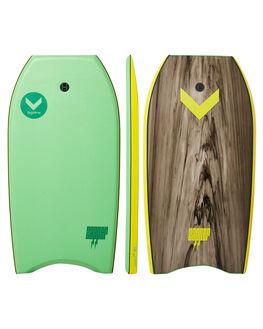 GREEN MULTI BOARDSPORTS SURF HYDRO BODYBOARDS - ZB18-HYD-040GRM