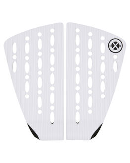 WHITE BOARDSPORTS SURF DREDED TAILPADS - DRPRO-2PCWXLKWHI