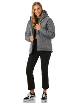GREY HERRINGBONE WOMENS CLOTHING HUFFER JACKETS - WPJA92S802GHBONE