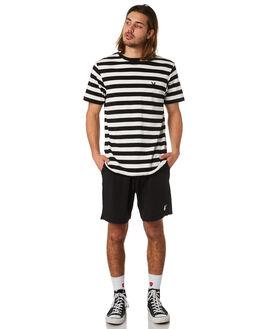 BLACK MENS CLOTHING GOOD WORTH BOARDSHORTS - SPB1821BLK