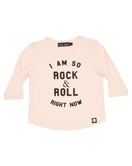 PINK KIDS GIRLS LITTLE LORDS TOPS - AW19312PNK