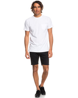 BLACK MENS CLOTHING QUIKSILVER SHORTS - EQYWS03472KVJ0