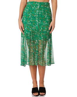 MOSS FLORAL WOMENS CLOTHING STEVIE MAY SKIRTS - SL190505SKMFLOR