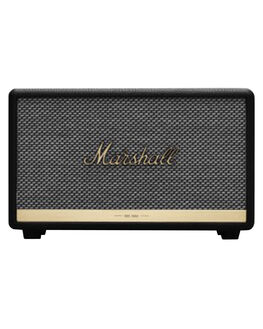 BLACK MENS ACCESSORIES MARSHALL AUDIO + CAMERAS - 155686BLK