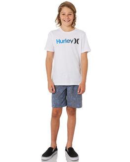 WHITE BLUE KIDS BOYS HURLEY TOPS - CI7516102