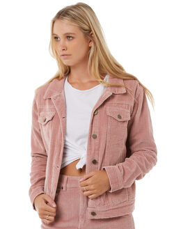 DUSTY PINK WOMENS CLOTHING THE HIDDEN WAY JACKETS - H8182382DPINK