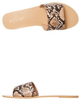CAMEL SNAKE WOMENS FOOTWEAR BILLINI FASHION SANDALS - S452CSNK