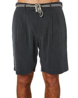 VINTAGE BLACK MENS CLOTHING ZANEROBE SHORTS - 606-WORDVBLK