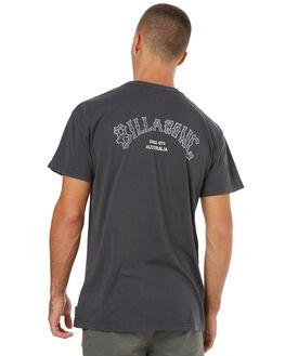 VINTAGE BLACK MENS CLOTHING BILLABONG TEES - 9585011VBLK