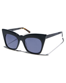 BLACK WOMENS ACCESSORIES PARED EYEWEAR SUNGLASSES - PE1401BBBLK