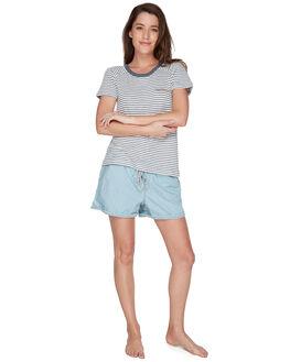 TURBULENCE THIN STP WOMENS CLOTHING ROXY TEES - ERJZT04335KYM4
