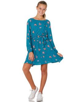 FLORAL PRINT KIDS GIRLS EVES SISTER DRESSES + PLAYSUITS - 9530031PRNT
