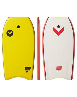 RED MULTI BOARDSPORTS SURF HYDRO BODYBOARDS - ZB18-HYD-038REDM