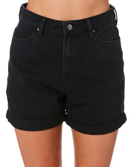 TEXAS BLACK WOMENS CLOTHING RIDERS BY LEE SHORTS - R-551687-D64