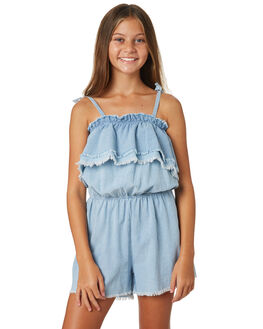 DENIM KIDS GIRLS EVES SISTER DRESSES + PLAYSUITS - 9920067DNM
