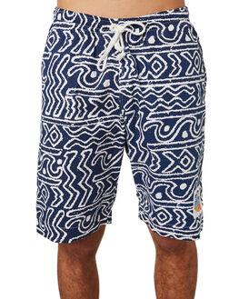 NAVY MENS CLOTHING OKANUI BOARDSHORTS - OKBORFNVNVY