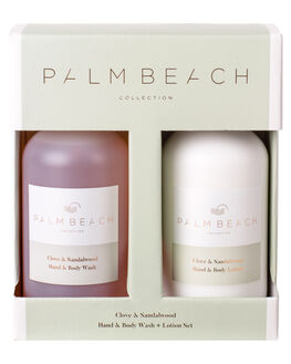 CLOVE AND SANDALWOOD WOMENS ACCESSORIES PALM BEACH COLLECTION HOME + BODY - GPHBC-CLV