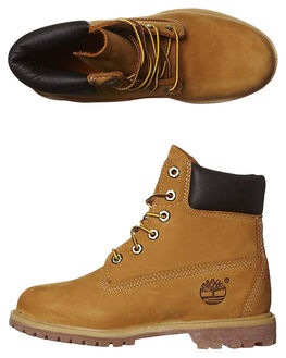 WHEAT WOMENS FOOTWEAR TIMBERLAND BOOTS - 10361WHEA