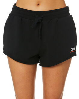 BLACK WOMENS CLOTHING C&M CAMILLA AND MARC SHORTS - VCMP4340BLK