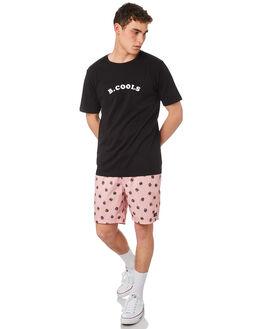 PINK BURGERS MENS CLOTHING BARNEY COOLS BOARDSHORTS - 803-CR4PNKBU