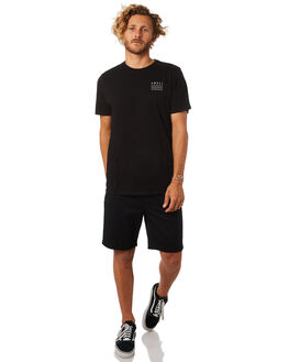 BLACK MENS CLOTHING SWELL TEES - S5164013BLK