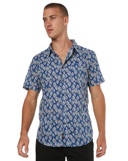 BLUE MENS CLOTHING IMPERIAL MOTION SHIRTS - 201703008052BLU