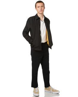BLACK MENS CLOTHING NO NEWS JACKETS - N5174381BLK