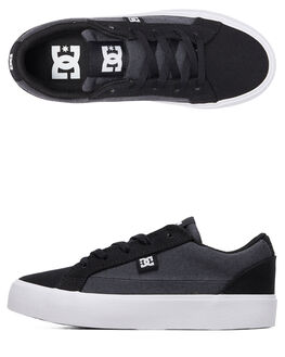 BLACK/ARMOR KIDS BOYS DC SHOES SNEAKERS - ADBS300345-BKO