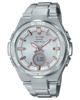 STAINLESS STEEL WOMENS ACCESSORIES BABY G WATCHES - MSGS200D-7ASSTL