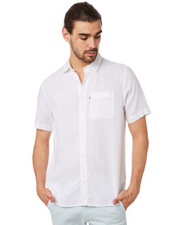 WHITE MENS CLOTHING ACADEMY BRAND SHIRTS - 19S880WHT