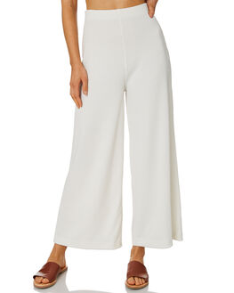 WARM WHITE WOMENS CLOTHING ZULU AND ZEPHYR PANTS - ZZ2519WWHT