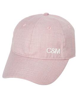PINK MELANGE WOMENS ACCESSORIES C&M CAMILLA AND MARC HEADWEAR - VCMA135PNK