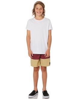 TAN KIDS BOYS ST GOLIATH BOARDSHORTS - 2440033TAN