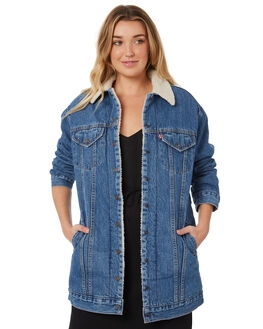LOVE SHACK WOMENS CLOTHING LEVI'S JACKETS - 57893-0000LVES