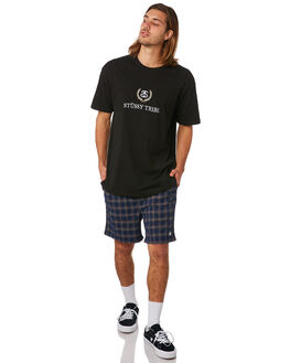 NAVY MENS CLOTHING STUSSY SHORTS - ST083608NVY