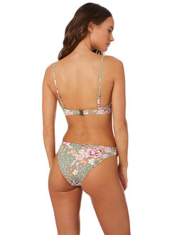 KEIRA FLORAL WOMENS SWIMWEAR SWELL BIKINI BOTTOMS - S8201334KEFLR