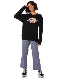 BLACK WOMENS CLOTHING DICKIES JUMPERS - KW3190301BK