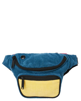NAVY YELLOW MENS ACCESSORIES THE BUMBAG CO BAGS + BACKPACKS - DB033NVYYE